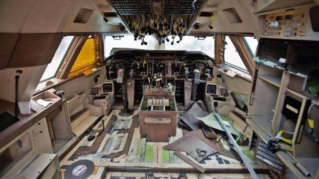 Las cabinas de piloto también ofrecen oportunidades de reciclaje. GETTY IMAGES