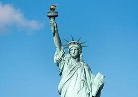 La Estatua de la Libertad: un ícono estadounidense llegado de Francia y originalmente pensado para un país árabe. GETTY IMAGES