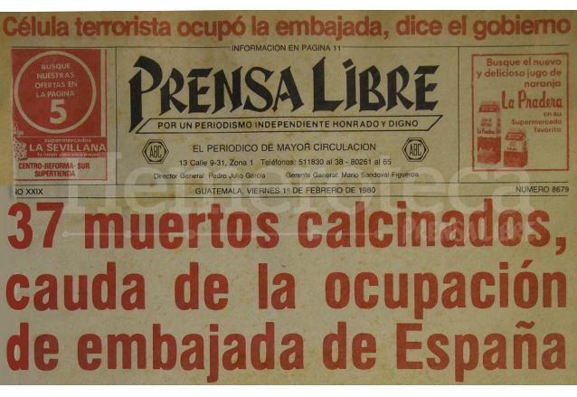 Arde la embajada de espa a en 1980 - Embaja de espana ...