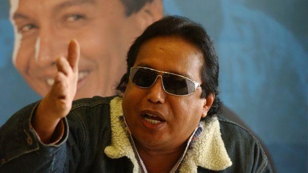 Díaz había seguido los pasos en la música de su padre, el ícono del vallenato Diomedes Díaz. REUTERS