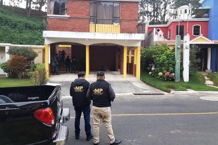El MP y la PNC ejecutan varios allanamientos en Guatemala y Chiquimula. (Foto Prensa Libre: MP)