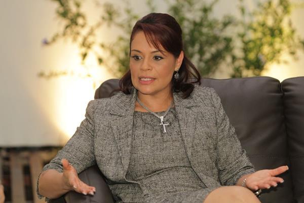 Roxana Baldetti, ex vicepresidenta de Guatemala. (Foto Prensa Libre: Hemeroteca PL)