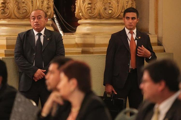 Una de las principales funciones de la SAAS es garantizar la seguridad del mandatario. (Foto Prensa Libre: Hemeroteca PL)