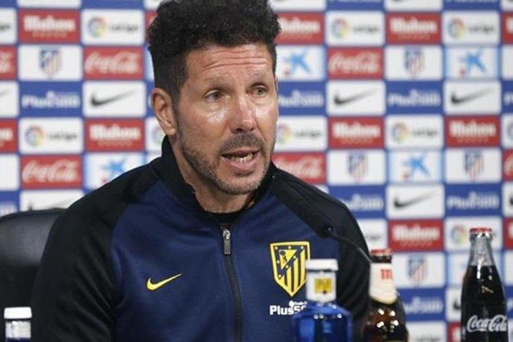 Diego Simeone habló del partido que el Atlético de Madrid enfrentará el fin de semana al Granada. (Foto Prensa Libre: Hemeroteca)