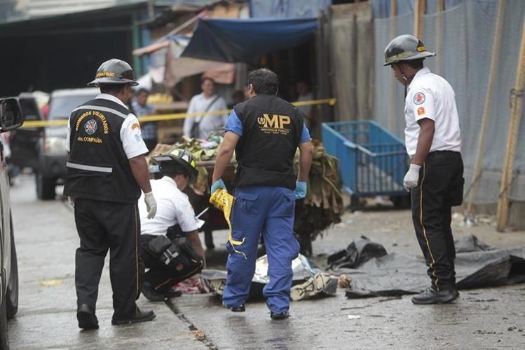 Los ataque armados cobraron varias vidas durante las fiestas de fin de año. (Foto Prensa Libre: CBV)