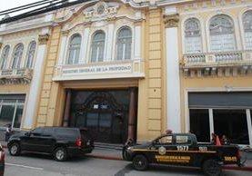 El Registro General de la Propiedad está en el ojo de la justicia por casos de corrupción. (Foto Prensa Libre: Hemeroteca)