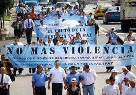La escalada de violencia en Centroamérica refleja el fracaso de las políticas de mano dura. (Foto Prensa Libre: Hemeroteca PL)