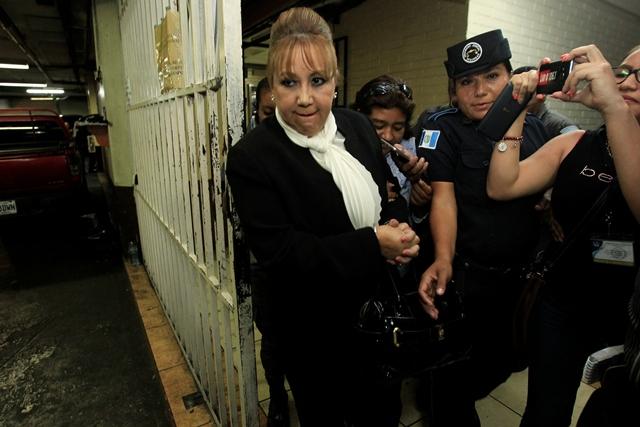 Blanca Stalling es acusada de tráfico de influencias. (Foto Prensa Libre: Hemeroteca PL)