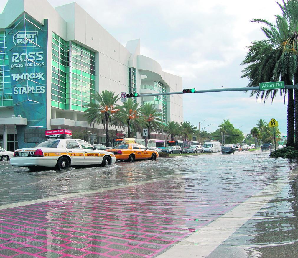 El incidente ocurrió en la turística Miami Beach. (Foto Hemeroteca PL).