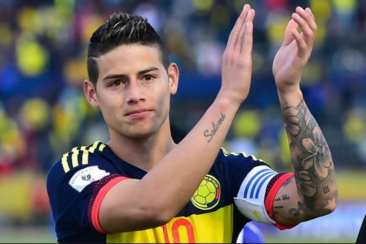 James Rodríguez no jugará contra Venezuela por las eliminatorias Rusia 2018