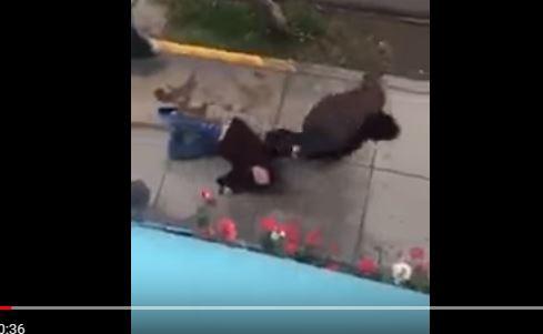 Caso de violencia doméstica indigna en Perú. (Foto: captura de YouTube)