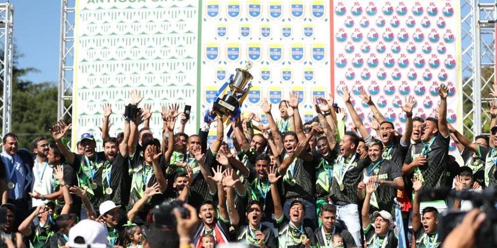 Antigua destrona a Municipal y gana su tercer título de Liga Nacional