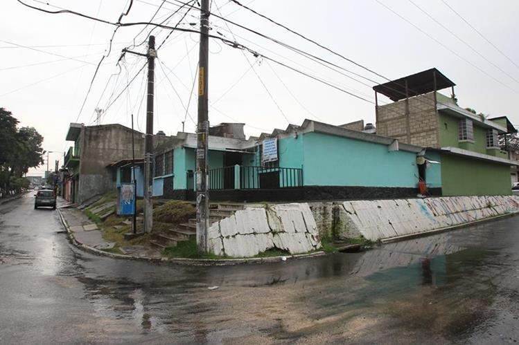 Así luce actualmente unos de los sectores de la colonia Primero de Julio. (Foto Prensa Libre: Esbin García)