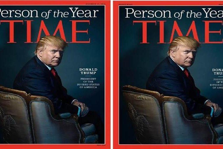 Foto de Donald Trump figura en la portada de la revista Time que estará a la venta este viernes.