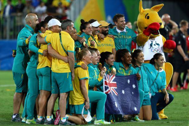 Australia conquistó la medalla de oro al vencer a Nueva Zelanda. (Getty Images)