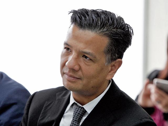 Eduardo José Liu Yon, exdirectivo del Bantrab, es colaborador eficaz en el caso y supuestamente hubo intento de evitar que rindiera sus declaraciones. (Foto Prensa Libre: Hemeroteca PL)