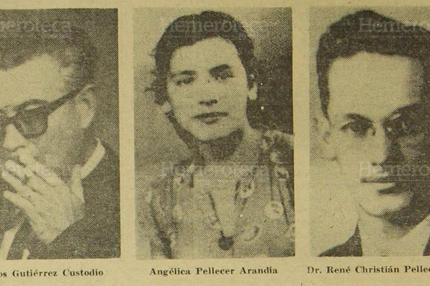 23/03/1965. Principales actores en el fraude a la lotería nacional. (Foto: Hemeroteca PL).