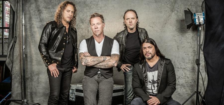 Metallica promociona su disco Hardwired ... To Self-Destruct. (Foto Prensa Libre: maxmetal.net)
