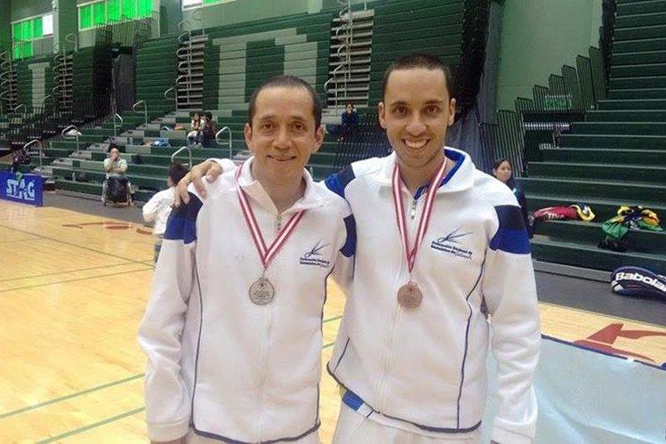 Los atletas guatemaltecos fueron un dificil rival en el Internacional de Perú. (Foto Prensa Libre: COG)