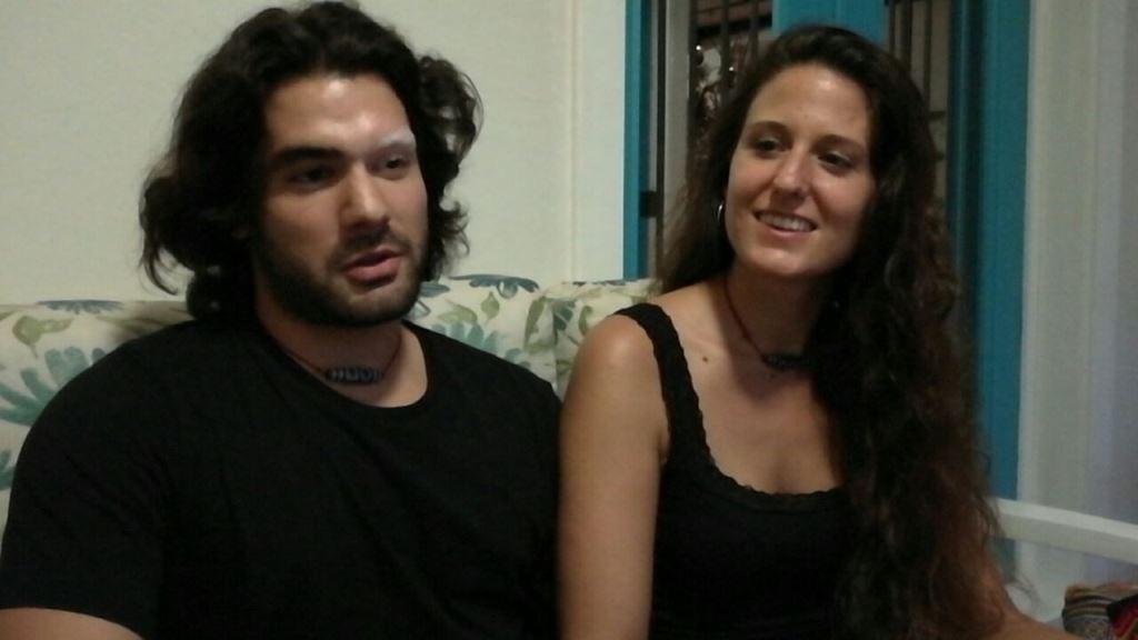 Gaizka y Raquel Zapata tienen programado contraer matrimonio en febrero próximo. (Foto Prensa Libre: Rigoberto Escobar).