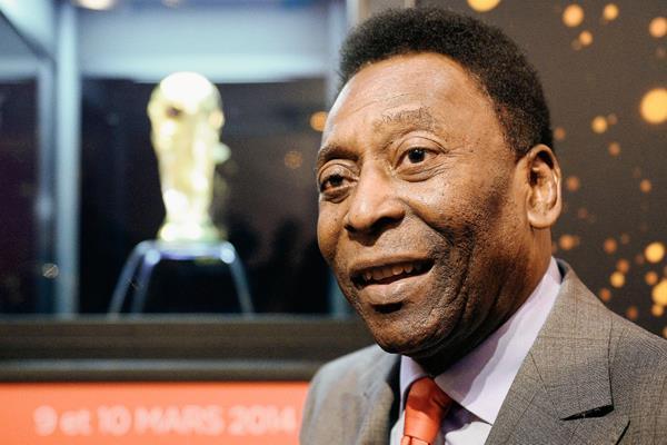 La leyenda del futbol brasileño, Pelé visitará Cuba por primera vez. (Foto Prensa Libre: AFP)