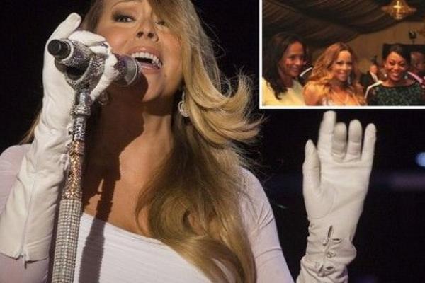 <p>Mariah Carey actuó para la familia del dictador de Angola y su familia. (Foto tomada de www.abc.com.py)</p>