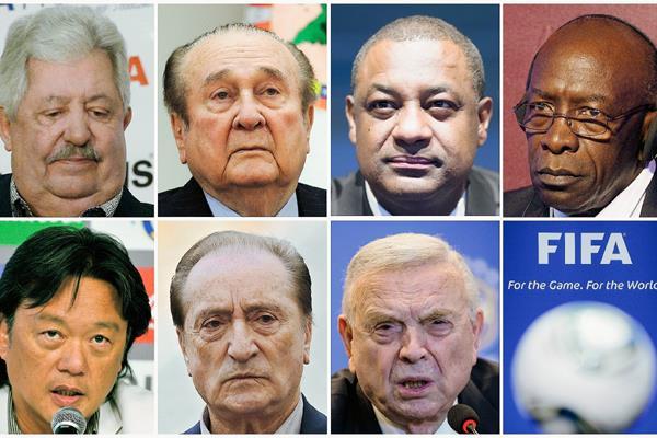Estos son los arrestados por la autoridades en Suiza. (Foto Prensa Libre: AFP)