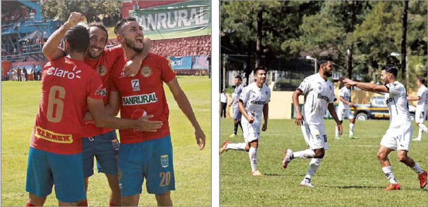 Municipal y Comunicaciones definirán al ganador de la clasificación del Apertura 2016 en la última jornada del torneo. (Foto Prensa Libre: Eduardo Sam Chun)
