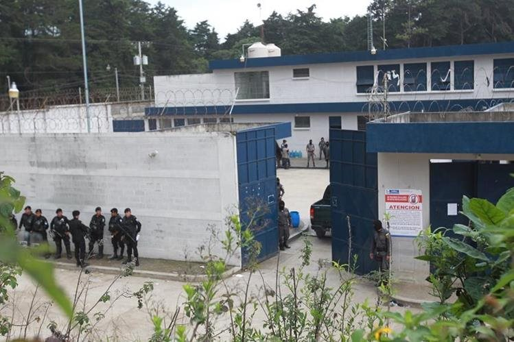 El ataque se registró en la cárcel de alta seguridad Fraijanes 1. (Foto Prensa Libre: Hemeroteca PL)