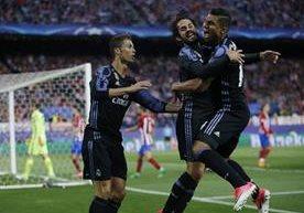 El Atlético recibió al Real Madrid en el Vicente Calderón.