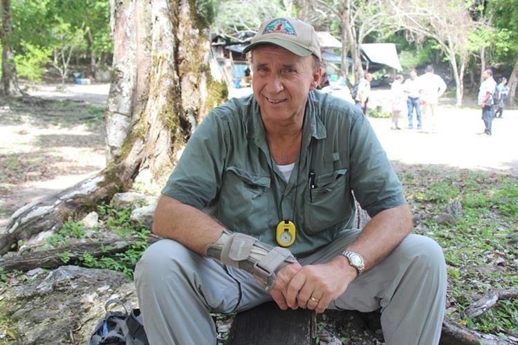 Richard Hansen ha dedicado más de 35 años al estudio de la antigua ciudad maya El Mirador. (Foto Prensa Libre: Rigoberto Escobar)