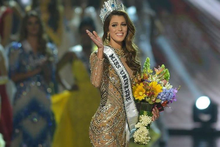 Miss Francia, Iris Mittenaere, fue coronada como Miss Universo el 29 de enero último.