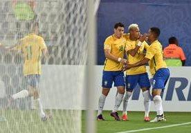 Neymar fue la gran figura en el triunfo