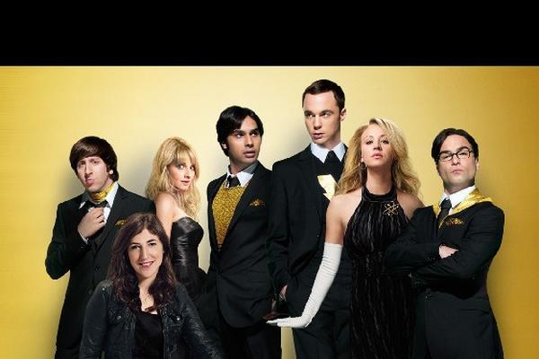 Los intérpretes de The Big Bang Theory compiten por Mejor Elenco de Comedia.