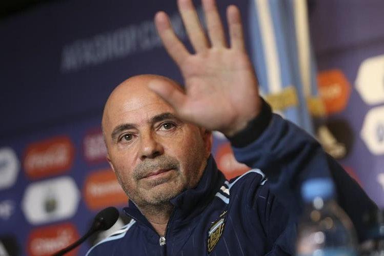 Jorge Sampaoli: esto dijo sobre Lionel Messi y Mauro Icardi en presentación