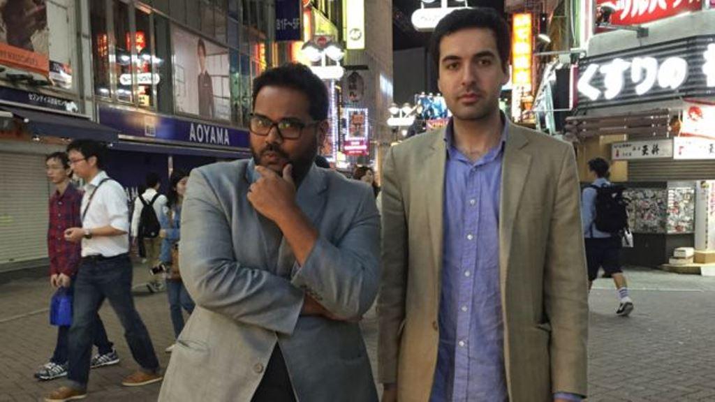 """Ambarish describe al cofundador, Omar Tayeb, como el """"inteligente y educado"""" de la dupla. AMBARISH MITRA"""
