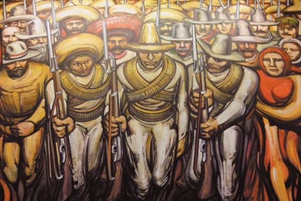 40 a os sin siqueiros for El mural de siqueiros