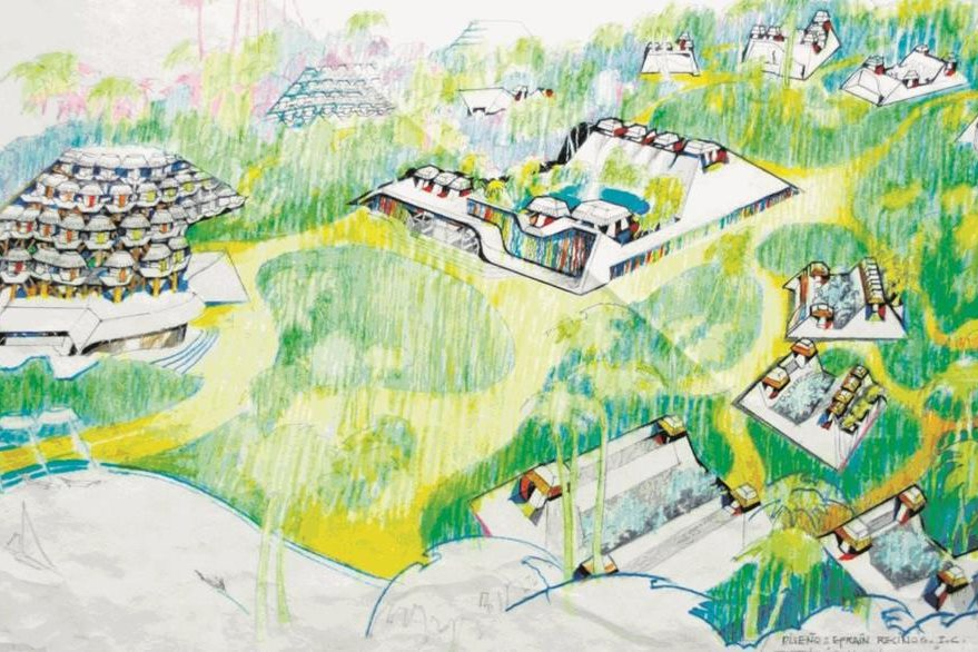 Atractivo turístico. Este proyecto fue solicitado por empresarios que buscaban construir un complejo hotelero en Izabal. (Foto: Hemeroteca PL)