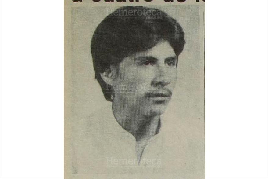 Héctor Haroldo Morales López, acusado de haber secuestrado a la señora Silvia Jimena de la Peña de López, fue sentenciado  por el fuero especial, 02/02/1983. (Foto : Hemeroteca PL)