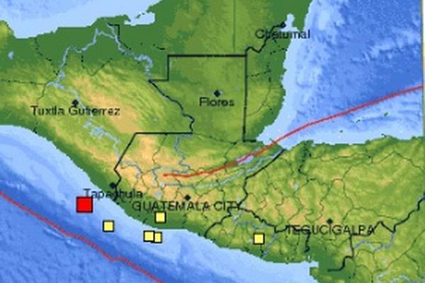 <p>El sismo tuvo epicentro en el océano Pacífico. (Foto cortesía del Sistema Geológico de EE. UU.)</p>