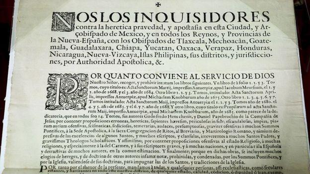 La Inquisición española contaba con tres tribunales en los territorios españoles en América, ubicados en México, Lima y Cartagena de Indias. GETTY IMAGES