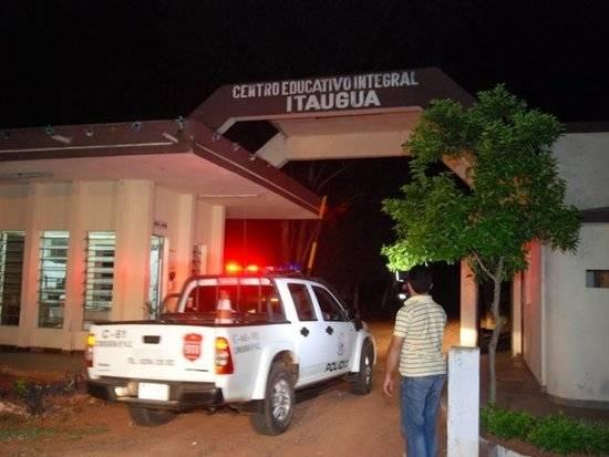 <em>El presidio conocido como Centro Educativo Itauguá se encuentra a 25 kilómetros al este de Asunción. (Foto Prensa Libre: sipse.com).</em>