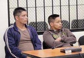 Adolfo Díaz López y su hijo Carlos Rodolfo Díaz Ramírez, fueron condenados por asesinato y asesinato en grado de tentativa. (Foto Prensa Libre: María Longo)