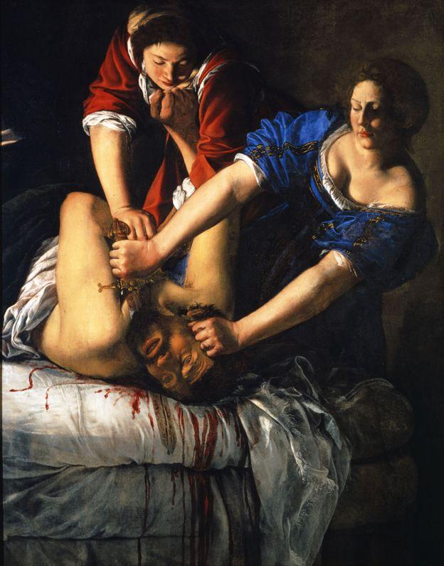 """Su obra más famosa es """"Judith decapitando a Holofernes"""" (1612 - 1613). GABINETTO FOTOGRAFICO DELLE GALLERIE DEGLI UFFIZI"""