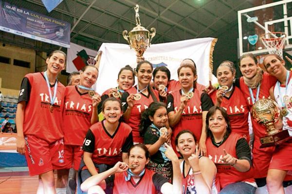 El equipo nacional Trias se coronó como campeón indiscutible en un torneo que dominió de principio a fin. (Foto Prensa Libre: Jesús Cuque)