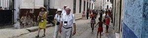 Turistas de EEUU en Cuba.