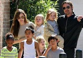 La pareja Pitt-Jolie mantuvieron una relación que parecía interminable. (Foto Prensa Libre: Hemeroteca PL)
