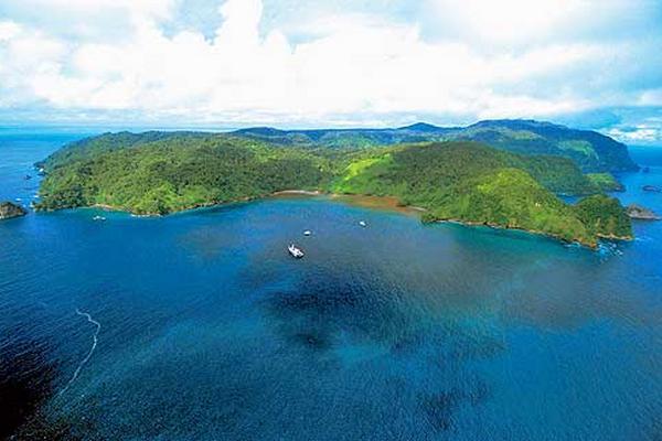 <p>Descubren monte submarino en Isla del Coco</p>