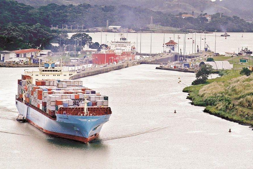 Canal de Panamá. (Foto Prensa Libre: Hemeroteca Pl)