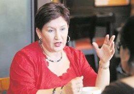 Thelma Aldana es la fiscal general del Ministerio Público de Guatemala. (Foto Prensa Libre: Hemeroteca PL)